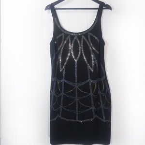 Gorgeous Sequined Bisou Bisou Midi Dress